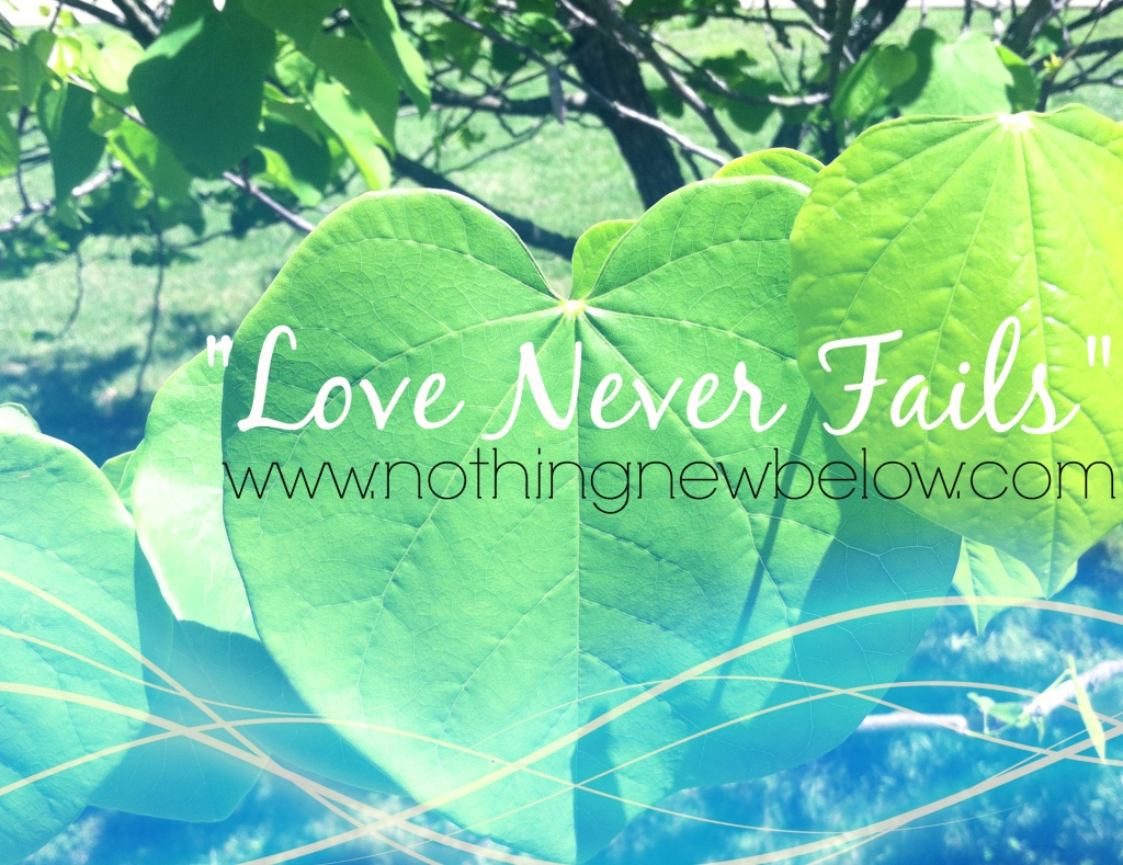 LoveNeverFails-NothingNew
